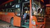 2 học sinh THPT tử vong tại chỗ sau cú va chạm với xe khách