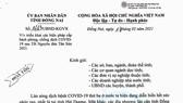 Đồng Nai: Người đứng đầu phải chịu trách nhiệm về hiệu quả phòng, chống dịch Covid-19