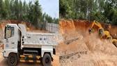 Phương tiện và khu vực phát hiện khai thác đất trái phép
