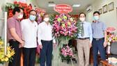 Chủ tịch UBND tỉnh Đồng Nai thăm Văn phòng đại diện Báo Sài Gòn Giải Phóng
