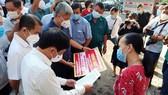 Đoàn công tác của Bộ Y tế kiểm tra công tác phòng chống dịch Covid-19 tại Đồng Nai