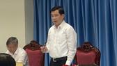 Bí thư Tỉnh ủy Đồng Nai Nguyễn Hồng Lĩnh phát biểu tại cuộc họp