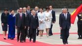 Lễ đón chính thức Chủ tịch nước Trần Đại Quang tại Hoàng cung Nhật Bản