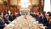 Chủ tịch nước Trần Đại Quang hội kiến với Chủ tịch Hạ viện Nhật Bản