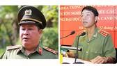 Ông Bùi Văn Thành (trái) và ông Trần Việt Tân