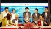 Lễ ký kết hợp đồng tư vấn chuyển đổi số giữa FPT và DPDgroup