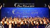 Lễ công bố và trao Danh hiệu Sao Khuê 2019
