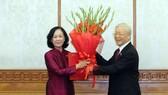 Đồng chí Trương Thị Mai được phân công làm Trưởng Ban Tổ chức Trung ương