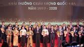 Vinh danh 116 doanh nghiệp đoạt Giải thưởng Chất lượng quốc gia