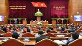 Toàn cảnh phiên khai mạc Hội nghị lần thứ 3 Ban Chấp hành Trung ương Đảng khóa XIII, sáng 5-7. Ảnh: VIẾT CHUNG