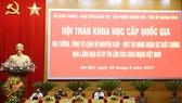 Hội thảo khoa học cấp quốc gia về Đại tướng Võ Nguyên Giáp