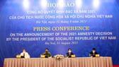 Công bố Quyết định đặc xá năm 2021 của Chủ tịch nước