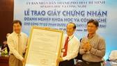 TPHCM có doanh nghiệp KH-CN đầu tiên trong ngành dược