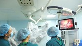 Binh Dan hospital performs robotic-assisted surgery for liver cancer