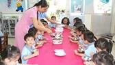 Gov't supports preschoolers' meal