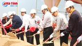 Groundbreaking for over $7.4 million mechanical plant