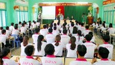 Locals in Dong Thap are at a training course before going to Japan (Photo: SGGP)