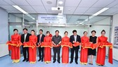 Representatives attending the grand opening ceremony of the Simulation Training Room
