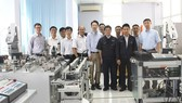 The machinery room with technology transferred from Japan train high-quality human resources on automatic robot in Ho Chi Minh City