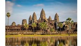 A tourist attraction in Cambodia (Photo: SGGP)