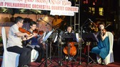 Japan philharmonic orchestra quartet performs in Hoi An City