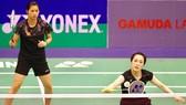 Vietnamese women duo Vu Thi Trang (R) and Nguyen Thi Sen (Source: VNA)
