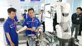 The robot laboratory in the Saigon Hi-tech Park