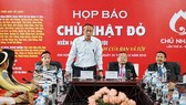 head of the National Institute of Haematology and Blood Transfusions (NIHBT) Professor Bach Quoc Khanh says Red Sunday has played an important role in the health sector's treatment for year (Photo: SGGP)