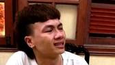 Kha cries at police station (Photo: SGGP)