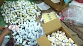 Fake drugs seized in the case (Photo: SGGP)