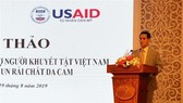 The United States will fund US$50 million to support people with disabilities in seven provinces sprayed with dioxin during the war, a conference heard on Monday.— VNA/VNS Photo