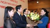 Top legislator hails teachers' contributions to national education development