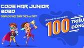 Nearly 1,000 students compete each other to win CodeWar Junior 2020