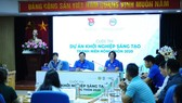 At the press brief of the competition (Photo: SGGP)