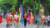 Hanoi's street culture festival is a highlight of the event. (Photo: Kinh te & Do thi)