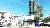 An social apartment for low-income earners is being built in Binh Dinh Province (Photo: SGGP)