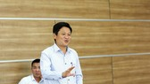 Deputy Director General Nguyen Khac Lich delivered his speech in the discussion. (Photo: SGGP)