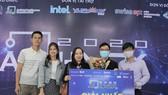 The champion of 'AI Hack 2020' bSmart. (Photo: SGGP)