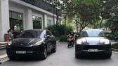 Two different cars spotted with exactly same number plate in Hanoi