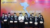 Vietnamese students win third prize at REGENERON ISEF 2021