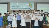 President Nguyen Xuan Phuc visits City Children's Hospital