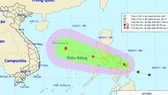 Tropical depression will enter the East Sea on November 10