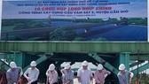 Closure ceremony of Vam Sat No. 2 Bridge (Photo: baogiaothong)