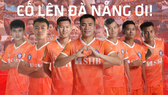 Players of Da Nang Football Club call for Covid-19 protection and prevention