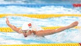 Vietnamese swimmer Nguyen Thi Anh Vien (Photo: Internet)