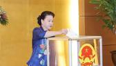 NA Chairwoman Nguyen Thi Kim Ngan at the event (Photo: VNA)