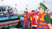 Binh Dinh Province bans all vessels going out to sea (Photo: Cong Cuong)