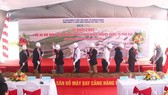 The groundbreaking ceremony of apron expansion project at Phu Bai Airport (Photo: AVG)