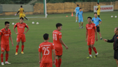 Nham Manh Dung of Vietel FC (No. 40) is one of 24 players has been called back for the last training camp of the U-22 national team. (Photo: thethao247.vn)