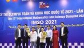 Vietnamese students won 20 medals at the 2021 International Mathematics and Science Olympiad (IMSO). (Photo: VNA)